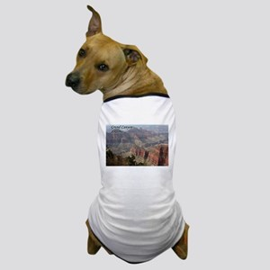 Grand Canyon, Arizona 2 (with caption) Dog T-Shirt