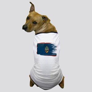 Guam Flag Dog T-Shirt