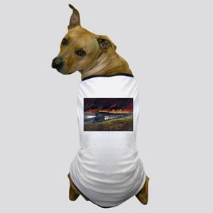 Prairie fires of the great west - 1872 Dog T-Shirt