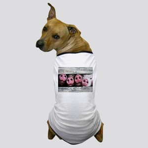 Four in a Row Dog T-Shirt