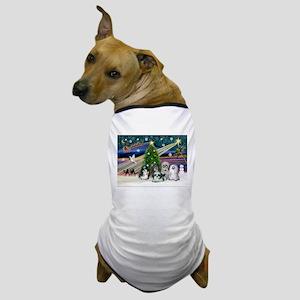 Xmas Magic / 5 Shih Tzus Dog T-Shirt