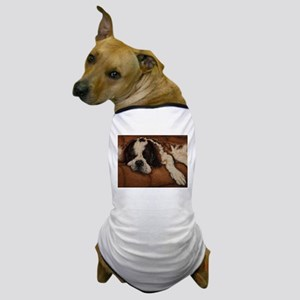 Saint Bernard Sleeping Dog T-Shirt