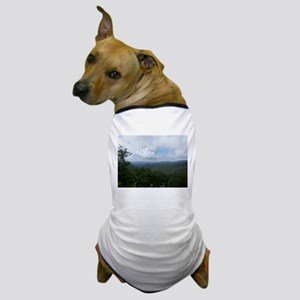 Blue Ridge Parkway - Asheville, NC Dog T-Shirt