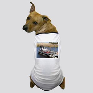 Florida swamp airboat Dog T-Shirt