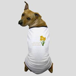 Something To Believe Dog T-Shirt