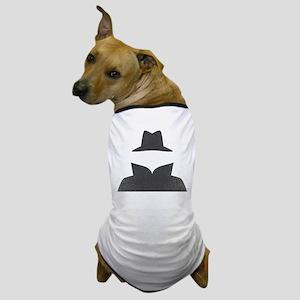 Secret Agent Spry Spy Guy Dog T-Shirt