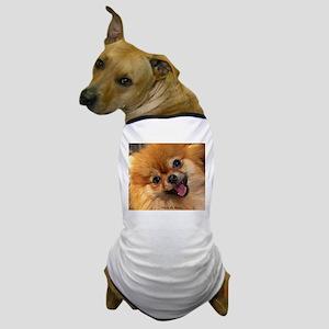 Happy Pomeranian Dog T-Shirt