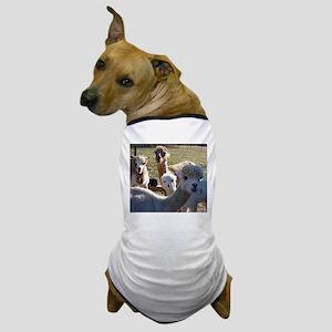 ALPACA FAMILY PORTRAIT™ Dog T-Shirt