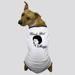Black Girl Magic Dog T-Shirt