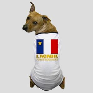 Acadian Flag Dog T-Shirt