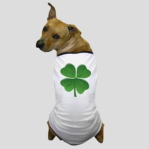 St Patrick Shamrock T Dog T-Shirt