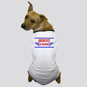 Architect In Training Dog T-Shirt