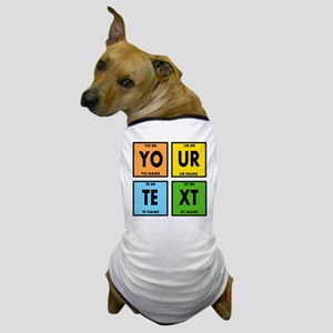 Your Text Periodic Elements Nerd Speci Dog T-Shirt