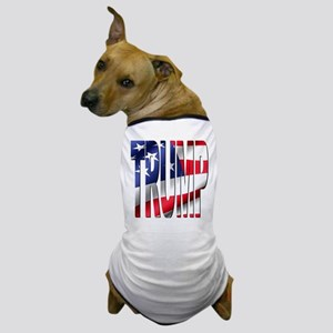 Trump 2016 USA Flag Dog T-Shirt
