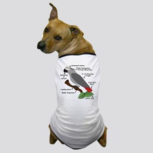 Anatomy of an African Grey Parrot Dog T-Shirt