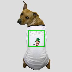 irish limerick Dog T-Shirt