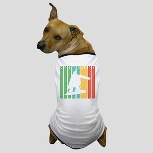 Retro Snowboard Dog T-Shirt