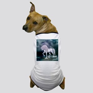 Wonderful unicorn on the beach Dog T-Shirt