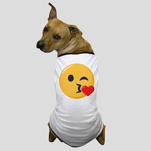 Kissing Emoji Dog T-Shirt