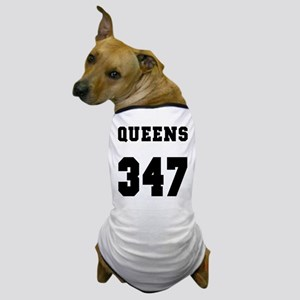 """QUEENS 347"" Dog T-Shirt"