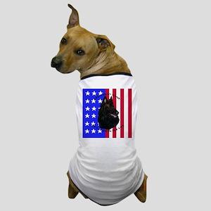Belgian Sheepdog & Flag Dog T-Shirt