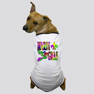 Mardi Gras with Gator Dog T-Shirt