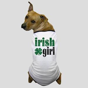 Irish Girl Dog T-Shirt