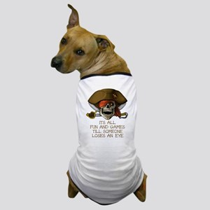 Its All Fun & Games Dog T-Shirt