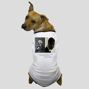 Douglass-Obama Dog T-Shirt