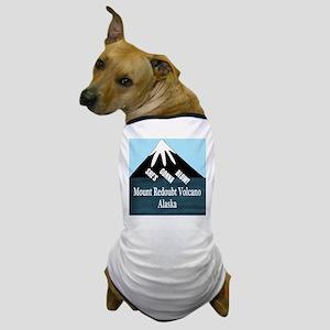 Mount Redoubt Volcano Dog T-Shirt