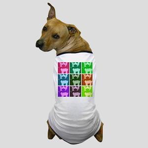 Wheaton Terrier Pop Art Dog T-Shirt