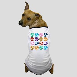 45 RPM Record Adapter Pop Art Dog T-Shirt