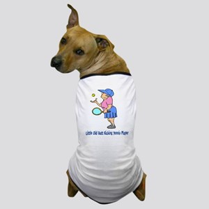 Butt Kicking Tennis Player Dog T-Shirt