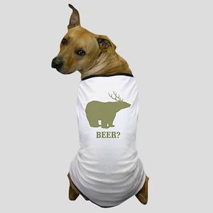 Beer Deer Bear Dog T-Shirt