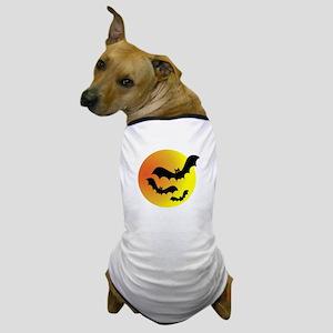 Bat Silhouettes Dog T-Shirt