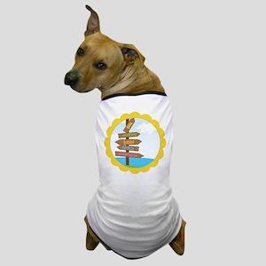 Beach Signs Dog T-Shirt