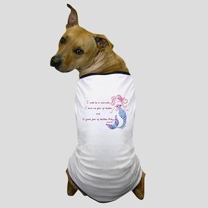 Tribal Mermaid Musings Dog T-Shirt