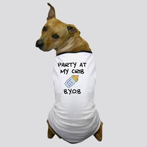 Party Crib Black Dog T-Shirt