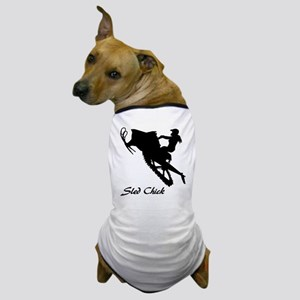 Sled Chick Dog T-Shirt