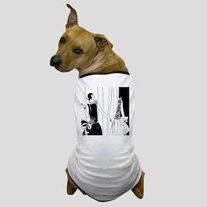 1920s vintage flappers black white dra Dog T-Shirt