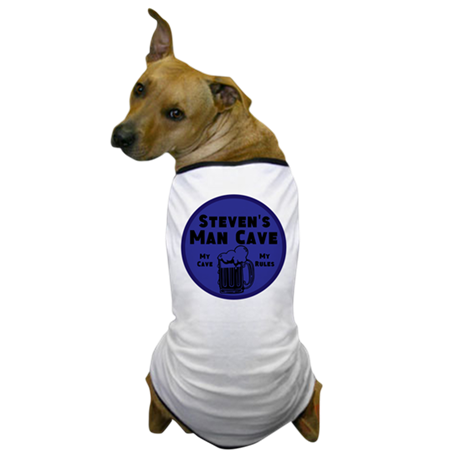Personalized Man Cave Dog T-Shirt