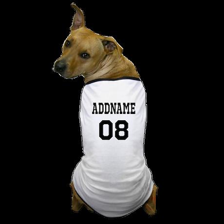 Custom Sports Theme Dog T-Shirt