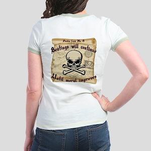 Pirates Law #8 Jr. Ringer T-Shirt
