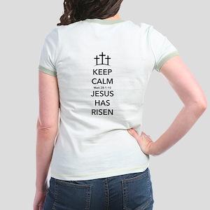 Risen Jesus Jr. Ringer T-Shirt