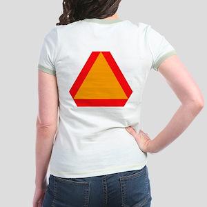 Slow Moving Vehicle Jr. Ringer T-Shirt