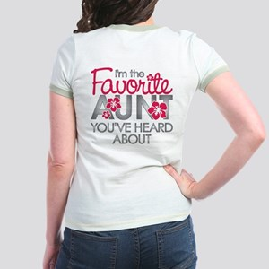 Favorite Aunt Jr. Ringer T-Shirt