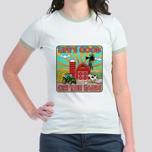 The Farm Jr. Ringer T-Shirt