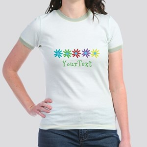 Personalize Flowers T-Shirt