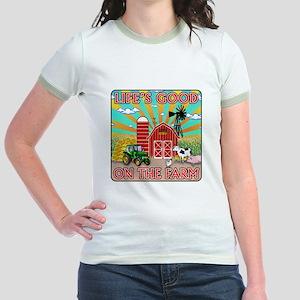 The Farm Jr. Ringer T-Shirt