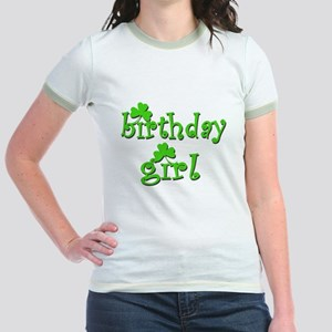Irish Birthday Girl Jr. Ringer T-Shirt